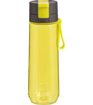 Trudeau 26 oz. DNA Water Bottle-Yellow