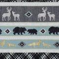 Nursery Flannel Fabric -Stripes