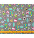 Doodles Juvenile Apparel Fabric-Woodlands Interlock