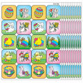 Teacher Created Resources Easter Stickers, 120 Per Pack, 12 Packs