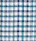 Quilter\u0027s Flannel Fabric-Stork Gingham Navy