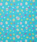 Easter Cotton Fabric 53\u0022-Easter Egg Multi Dot