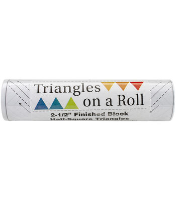 Triangles On A Roll Half-Square 50'x2.5''