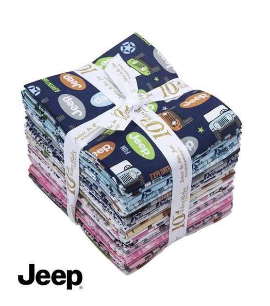 Jeep Adventure Awaits Fat Quarter Bundle by Riley Blake, , hi-res, image 1