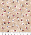 Premium Prints Cotton Fabric 43\u0022-Tossed Parisian Dogs