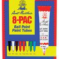 Aunt Martha\u0027s Ballpoint Paint Tubes 1 Ounce 8/Pkg-Assorted Colors