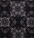 Keepsake Calico Cotton Fabric 43\u0027\u0027-Black Large Diamond Medallion