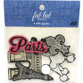 Fab Lab Wearables 6 pk Iron-on Appliques