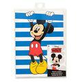 American Crafts Photo Albums-Mickey Stripe