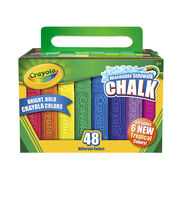 Crayola 48 Ct Sidewalk Chalk, , hi-res