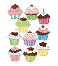 Susan Winget Cupcake Accents 30/pk, Set of 6 Packs
