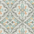 Kelly Ripa Home Upholstery Décor Fabric 9\u0022x9\u0022 Swatch-Seen & Heard Shell