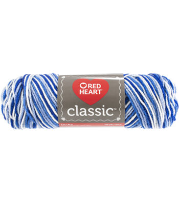 Red Heart Classic Yarn-Blues Multipack of 12