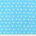 Snuggle Flannel Fabric -Aqua Tonal Dot