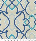 P/K Lifestyles Outdoor Print Fabric 54\u0027\u0027-Indigo Linked