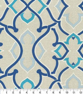 P/K Lifestyles Outdoor Print Fabric 54''-Indigo Linked