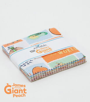 Pre-Cut Fabric-James And The Giant Peach by Riley Blake