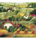 RIOLIS Diamond Mosaic Embroidery Kit 15.75\u0022X15.75\u0022-Serbian Landscape