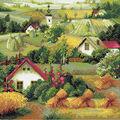 RIOLIS 15.75\u0027\u0027x15.75\u0027\u0027 Diamond Mosaic Kit-Serbian Landscape