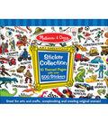 Melissa & Doug Sticker Collection - Blue