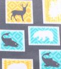 Blizzard Fleece Fabric -Wilderness Patch