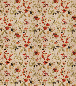 "Eaton Square Upholstery Fabric 54""-Goldstone/Spice"