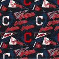Cleveland Indians Cotton Fabric -Vintage