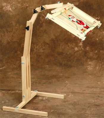 F.A. Edmunds Adjustable Craft Floor Stand