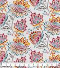 Snuggle Flannel Fabric-Bright Watercolor Floral