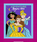 Disney Princesses No-Sew Fleece Throw 48\u0022-Adventure Begins Here