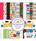Doodlebug Double-Sided Paper Pad 6\u0022X6\u0022 24/Pkg-School