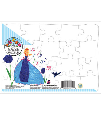 "Create Your Own Puzzle 14""X10"" 20 Piece Jigsaw Puzzle"