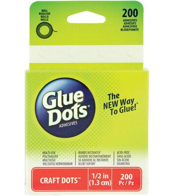 Glue Dots Dot Roll Clear