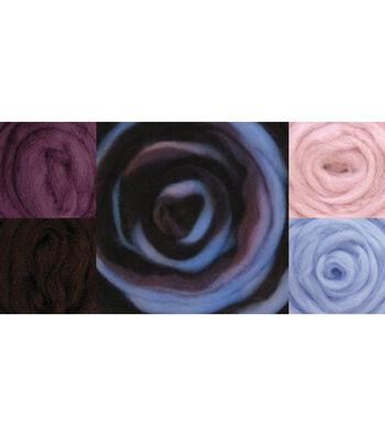 Wistyria Editions Wool Roving Sea Shells