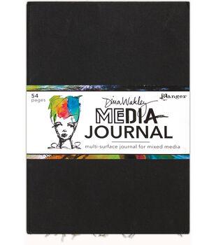 Ranger Dina Wakley Media 10''x14.25'' Journal