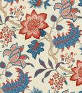 Waverly Multi-Purpose Decor Fabric 54\u0022-Maldives Lapis