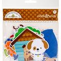Doodlebug Odds & Ends Die-Cuts-Puppy Love