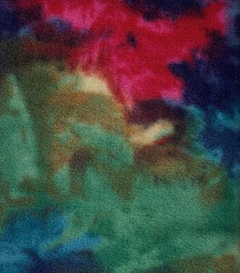 "Anti-Pill Fleece Fabric 58""-Classic Tie Dye"