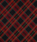 Snuggle Flannel Fabric-Traditional Holiday Plaid