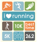 K & Company Stickers-Running-Track