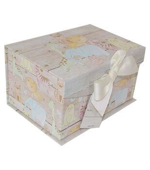 Organizing Essentials Small Fliptop Storage Box-Junior Jungle 2
