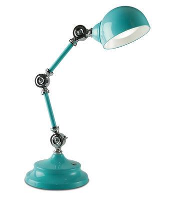 OttLite Parker Table Lamp-Turquoise