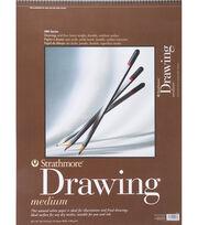"""Strathmore Medium Drawing Paper Pad 18""""X24"""", , hi-res"""