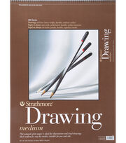 "Strathmore Medium Drawing Paper Pad 18""X24"", , hi-res"
