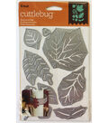 Cricut Cuttlebug Seasonal Foliage Cut & Emboss Die Set
