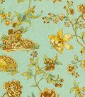 Home Decor 8\u0022x8\u0022 Fabric Swatch-Williamsburg Pondicherry Moonstone