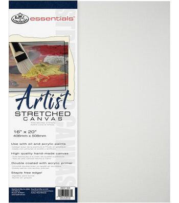 Royal & Langnickel Essentials 16''x20'' Artist Stretched Canvas
