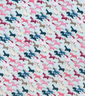 Snuggle Flannel Fabric-Horses Running Girl