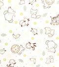 Doodles Juvenile Apparel Fabric 57\u0027\u0027-Animals