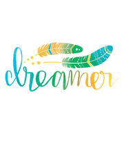 Cricut Small Iron-On Design-Dreamer, , hi-res